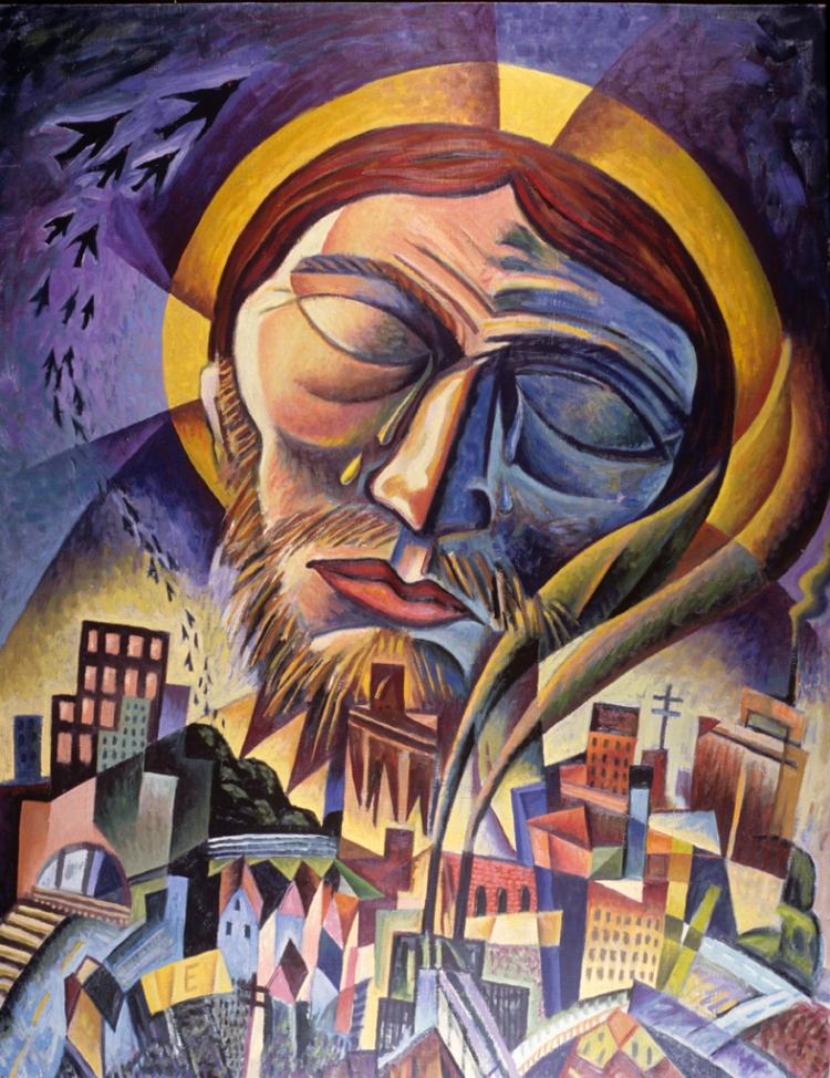 Man of Sorrows  by James B. Janknegt ( source )