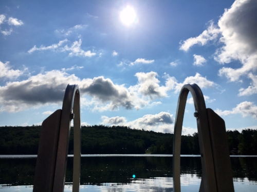 Clough Lake at  St. Methodios Retreat Center , Hopkinton, NH