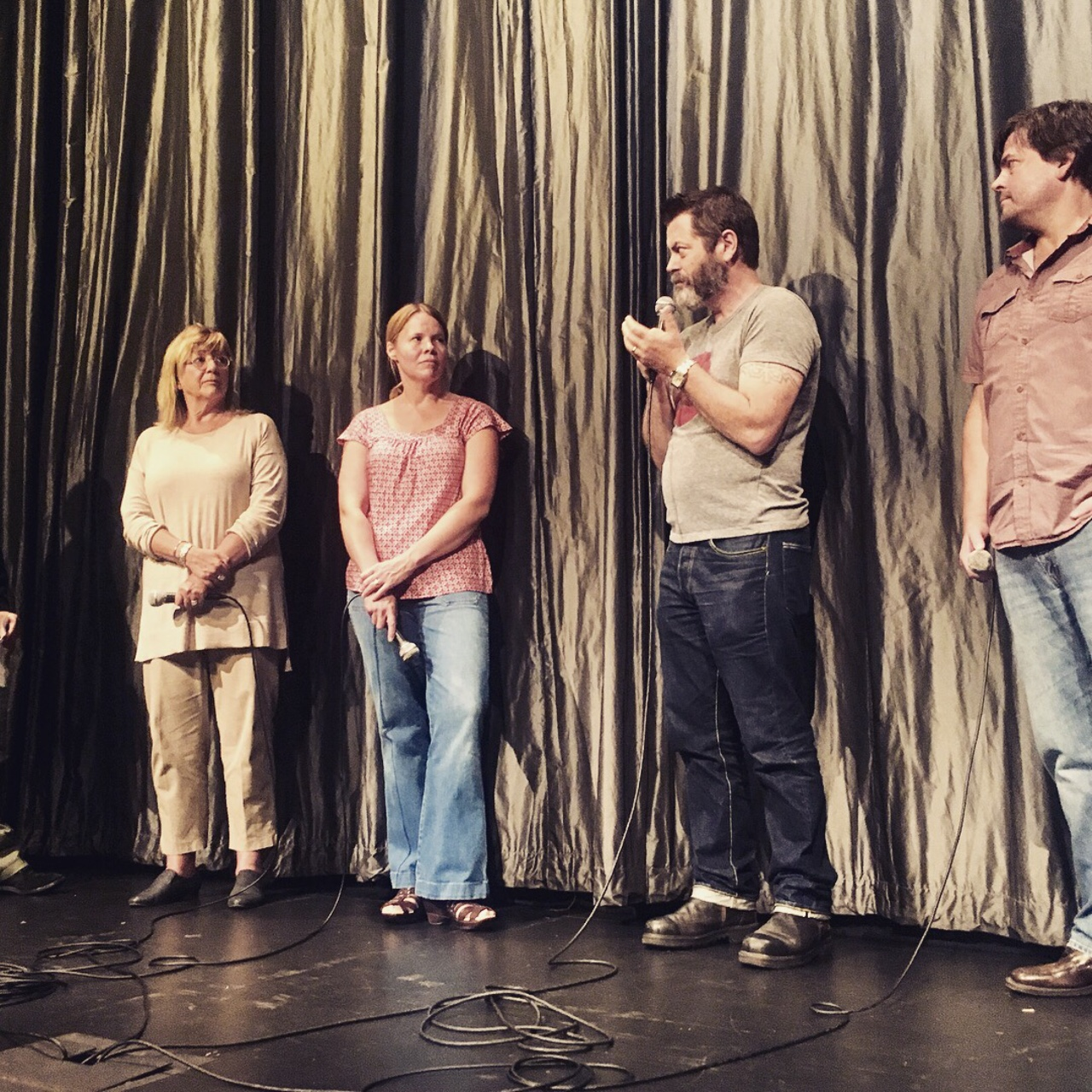 Mary Berry, Laura Dunn, Nick Offerman, Jef Sewell