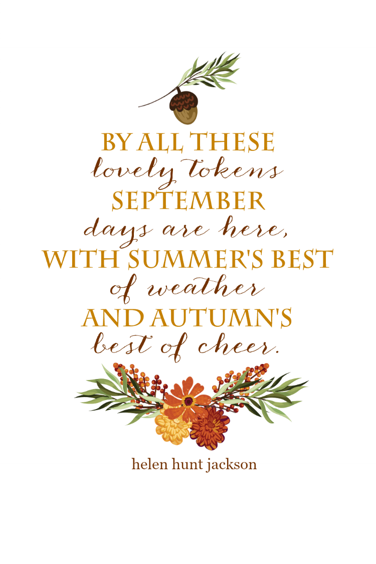 I taught my kids the  entire poem  when they were in preschool & kindergarten. I can hear their voices saying the words. sigh...  You can download this  free printable here.