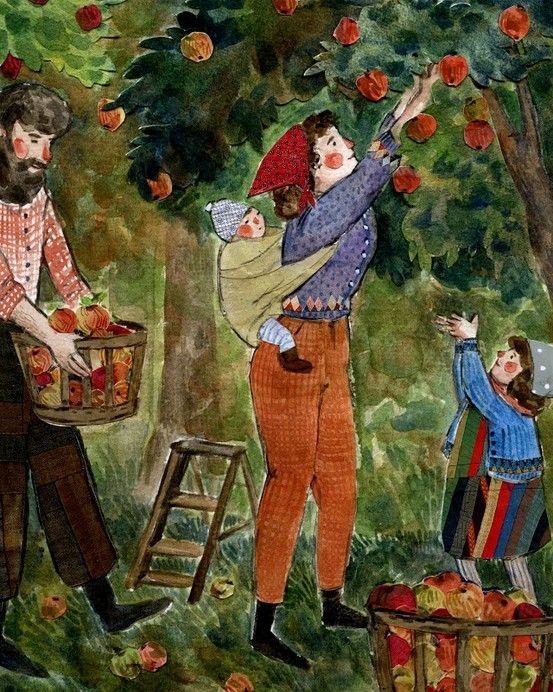 Apple Picking by  Pheoebe Wahl