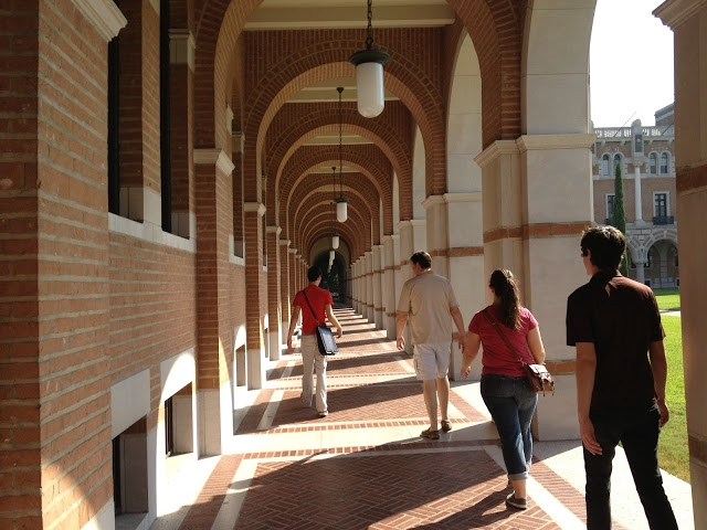 5 years ago - Alex giving us all a tour of his campus at Rice University. (Parents Weekend)