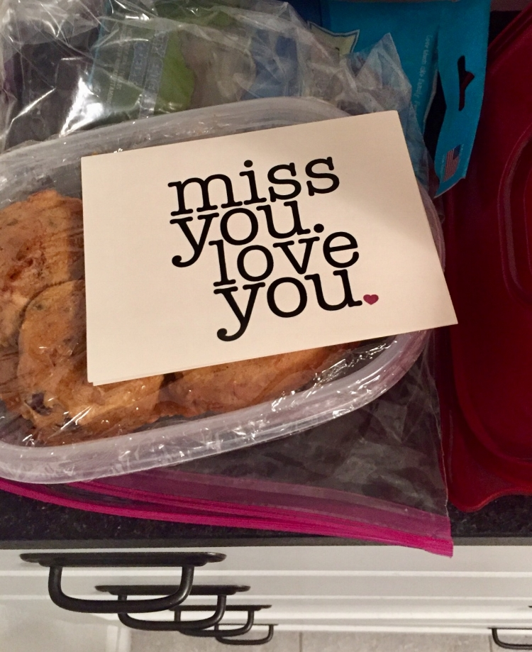 Our Fort Worth kids sent a photo to let us know the cookies had arrived.