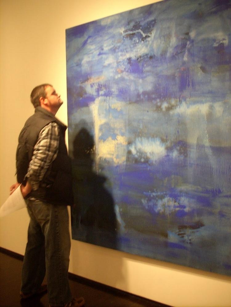 8 years ago - Mako Fujimura exhibit at the Dillon Gallery - NYC