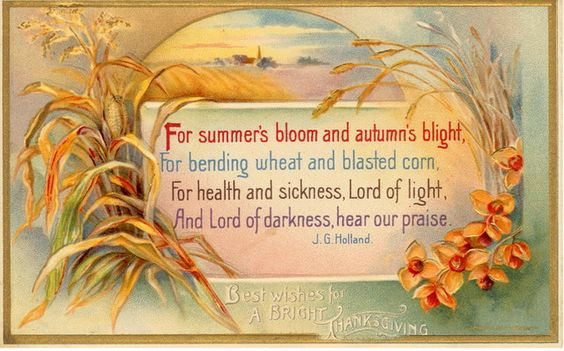 Thanksgiving prayer. vintage card.jpg
