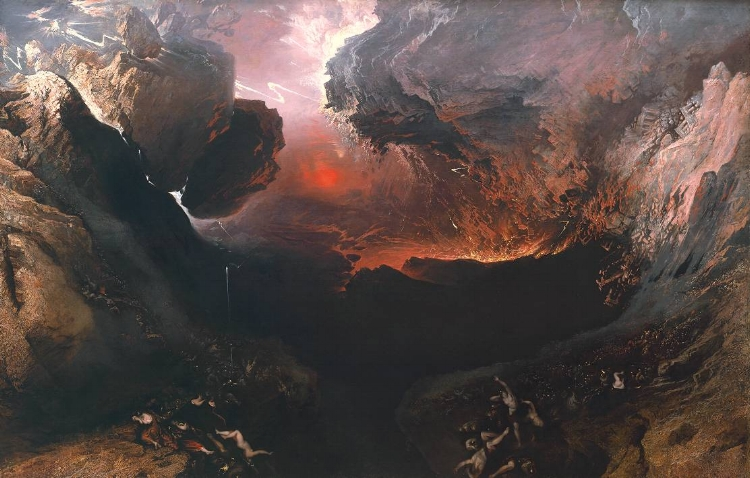 The Great Day of His Wrath , John Martin ( source )