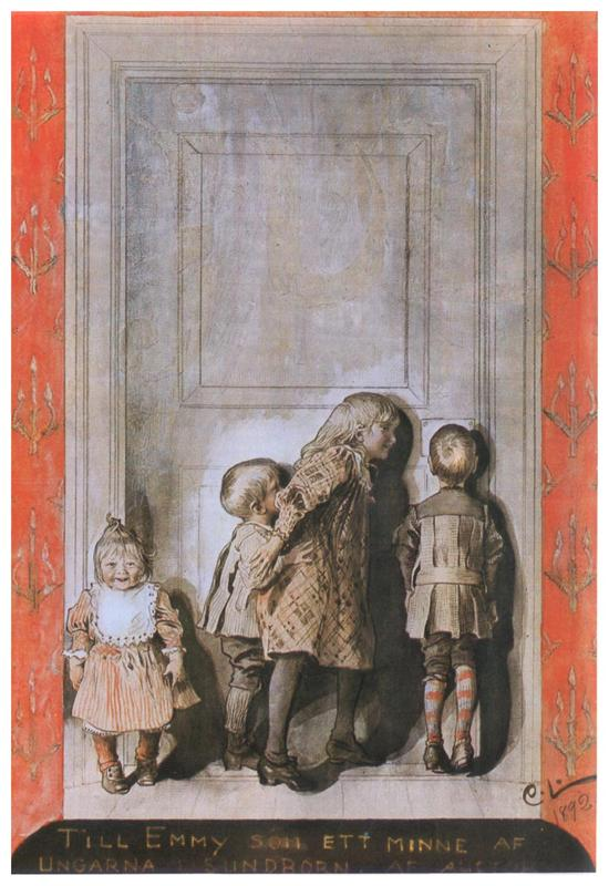 The Day Before Christmas , Carl Larsson ( source )