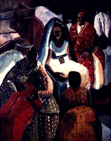 Christ in the Manger