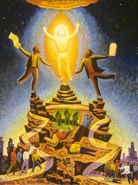 Transfiguration  by James B. Janknegt ( source )