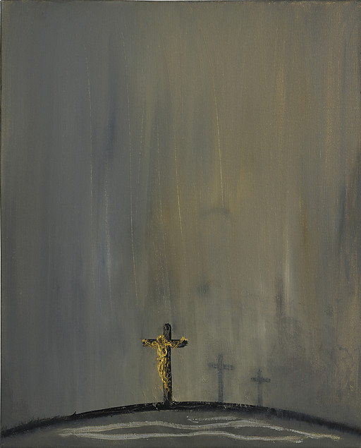 Good Friday, 2002  by Maggi Hambling  (source)  [h/t:  Art & Theology  blog]