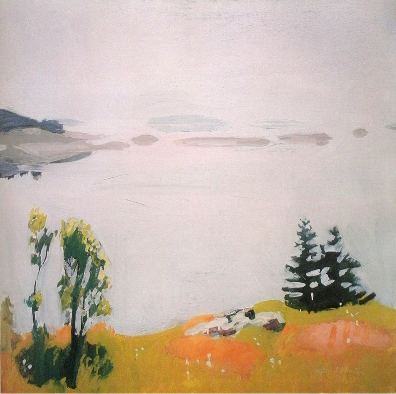 Calm Morning  by Fairfield Porter ( source )
