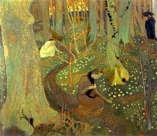 Easter Morning  or  Easter Mystery  by Maurice Denis ( source )