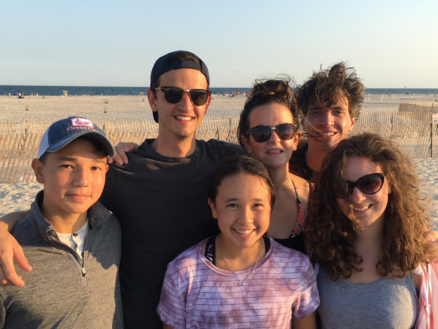 A July afternoon with my Brother's family on Jones Beach, Long Island.