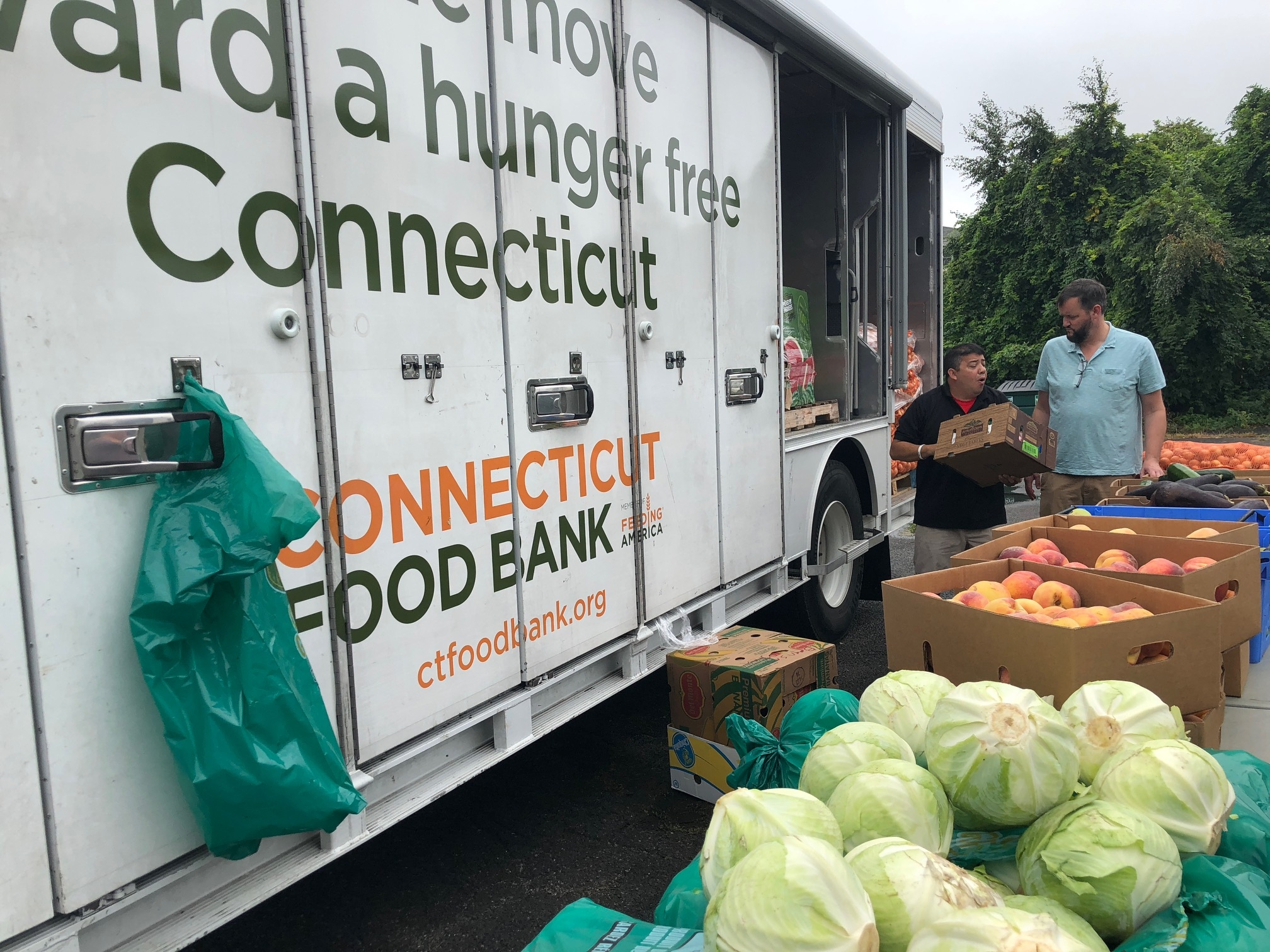 Food bank in Bridgeport