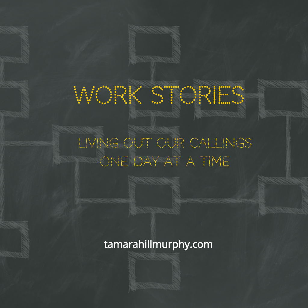What about you? - What are your various roles and what word(s) might describe the way they come together to encompass God's calling on your life?