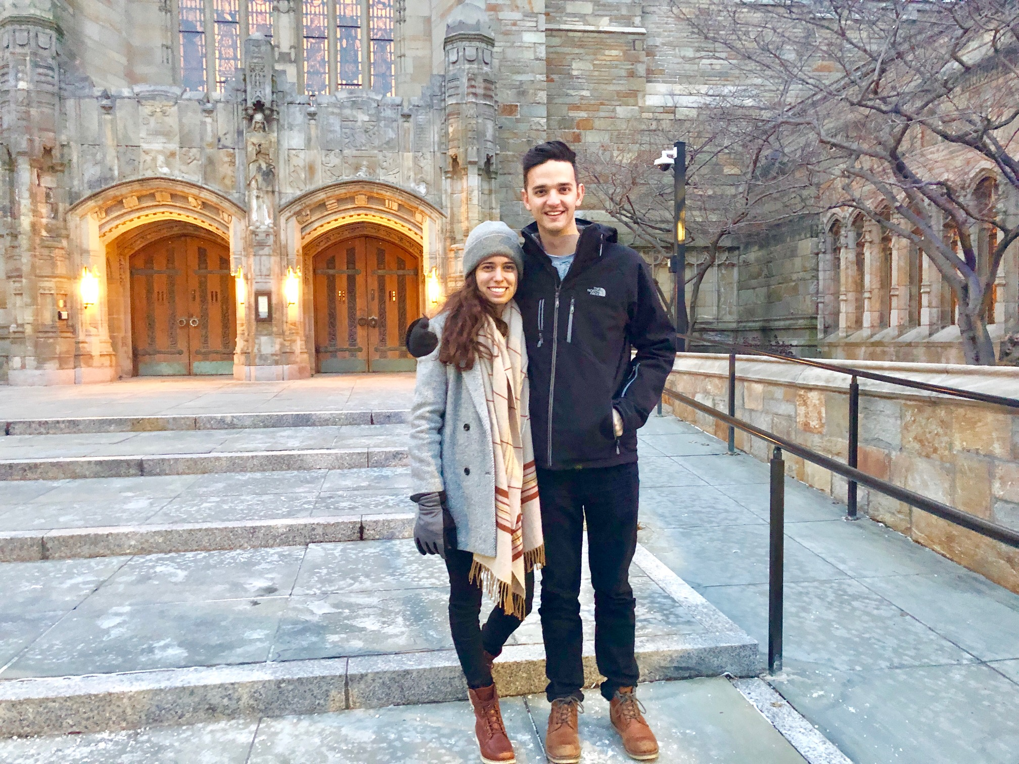 Alex & Bekah visited us from Austin! We spent one afternoon traipsing through New Haven & Yale campus in freezing temps.