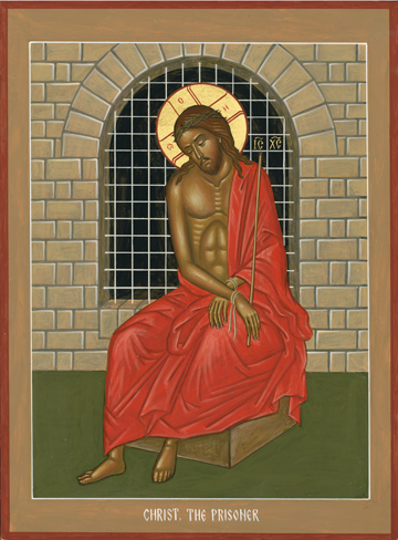 Icon of Christ the Prisoner , Nikolai Tsai   Source