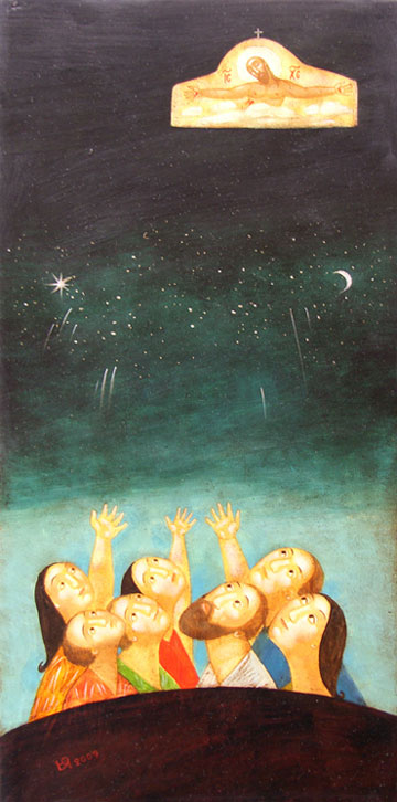 Ascension of Christ  (2007), Julia Stankova