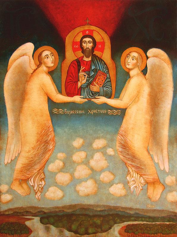 Ascension of Christ  (2018), Julia Stankova
