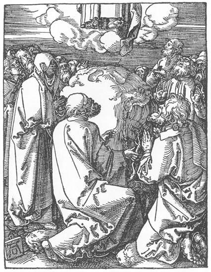 The Ascension , Albrecht Durer