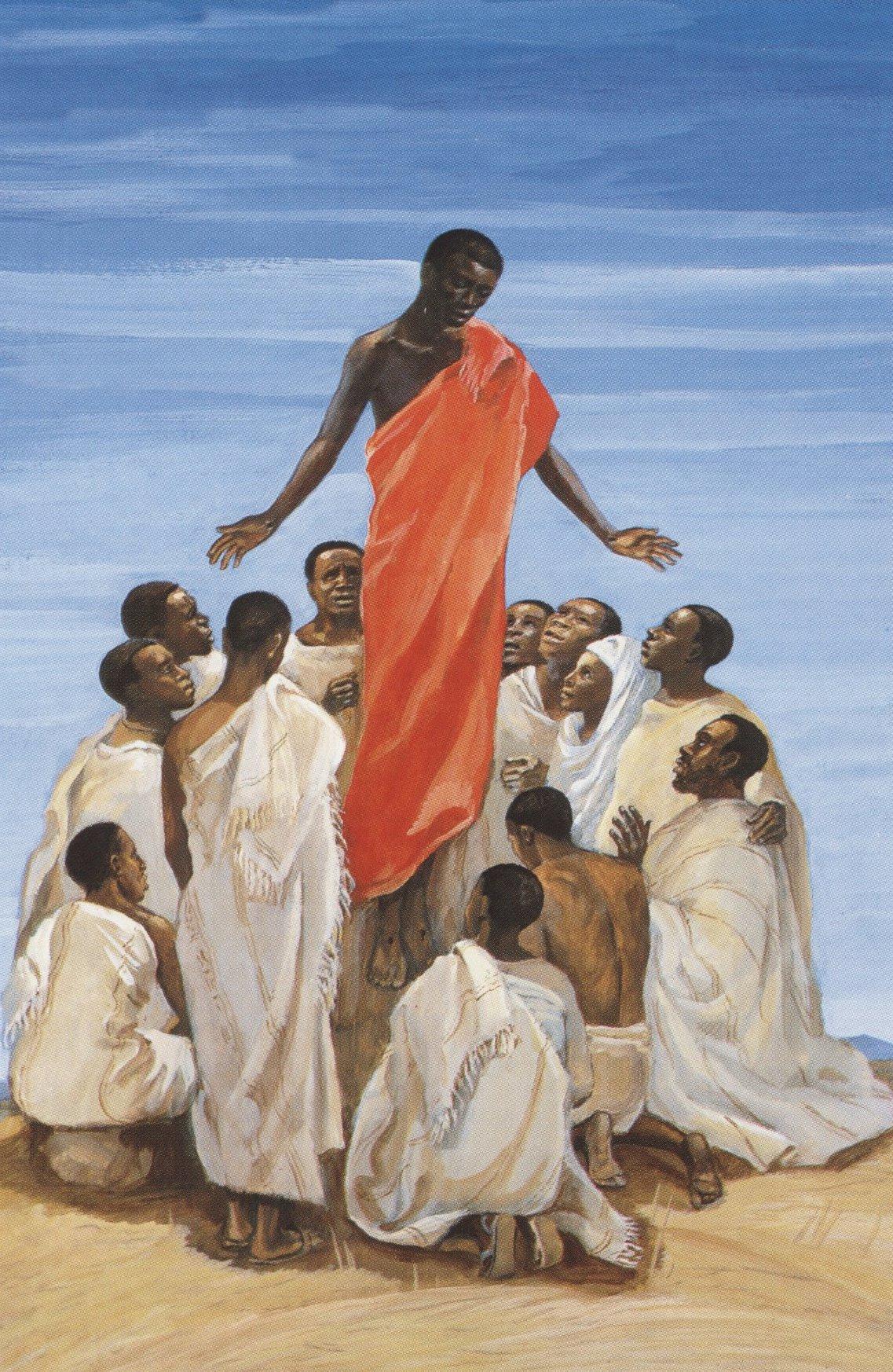 The Ascension , Jesus MAFA