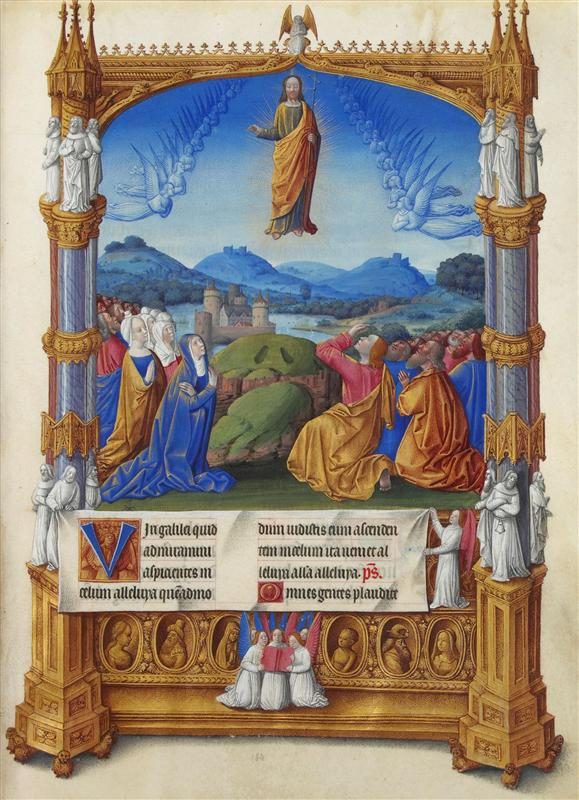 The Ascension , Limbourg brothers