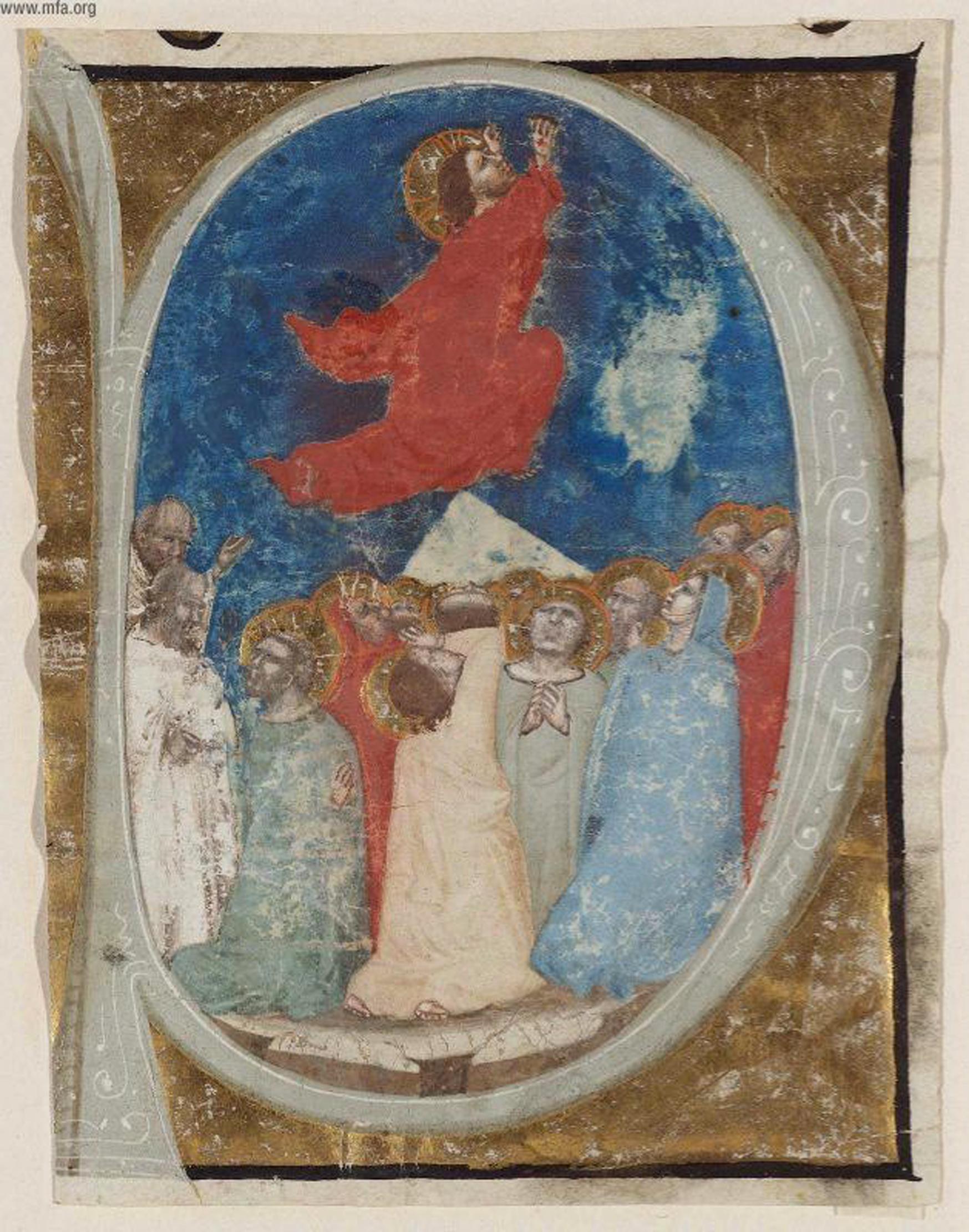 The Ascension, Niccolo di Giacoma da Bologna
