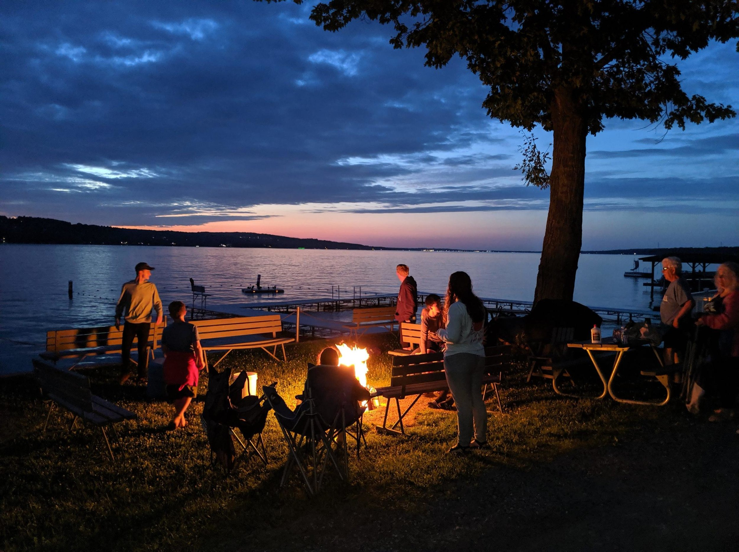 I love this photo my sister took during our annual Hill Family Vacation at LeTourneau Camp on Canandaigua Lake in NY. Sweet moments.