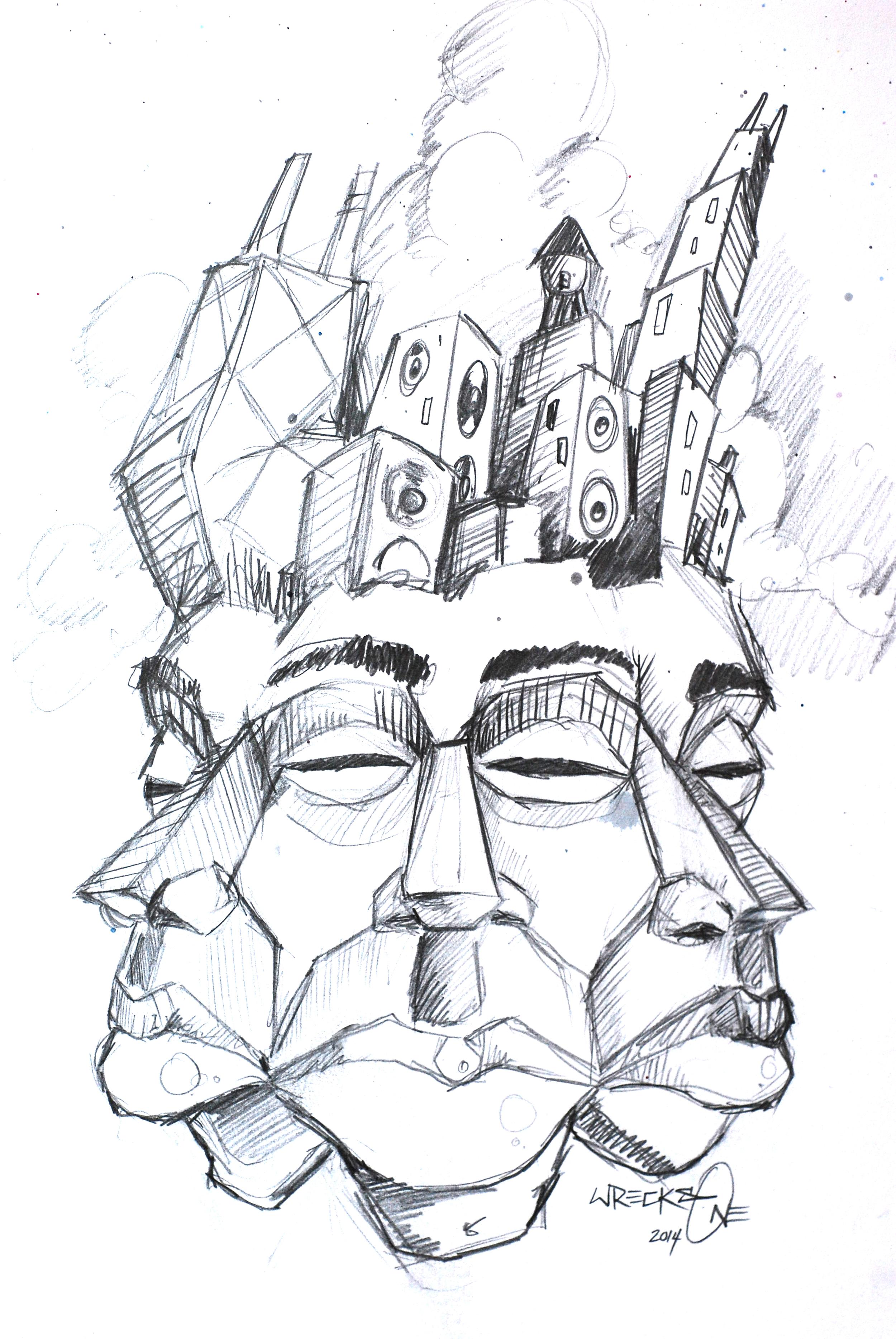 Triplets Sketch