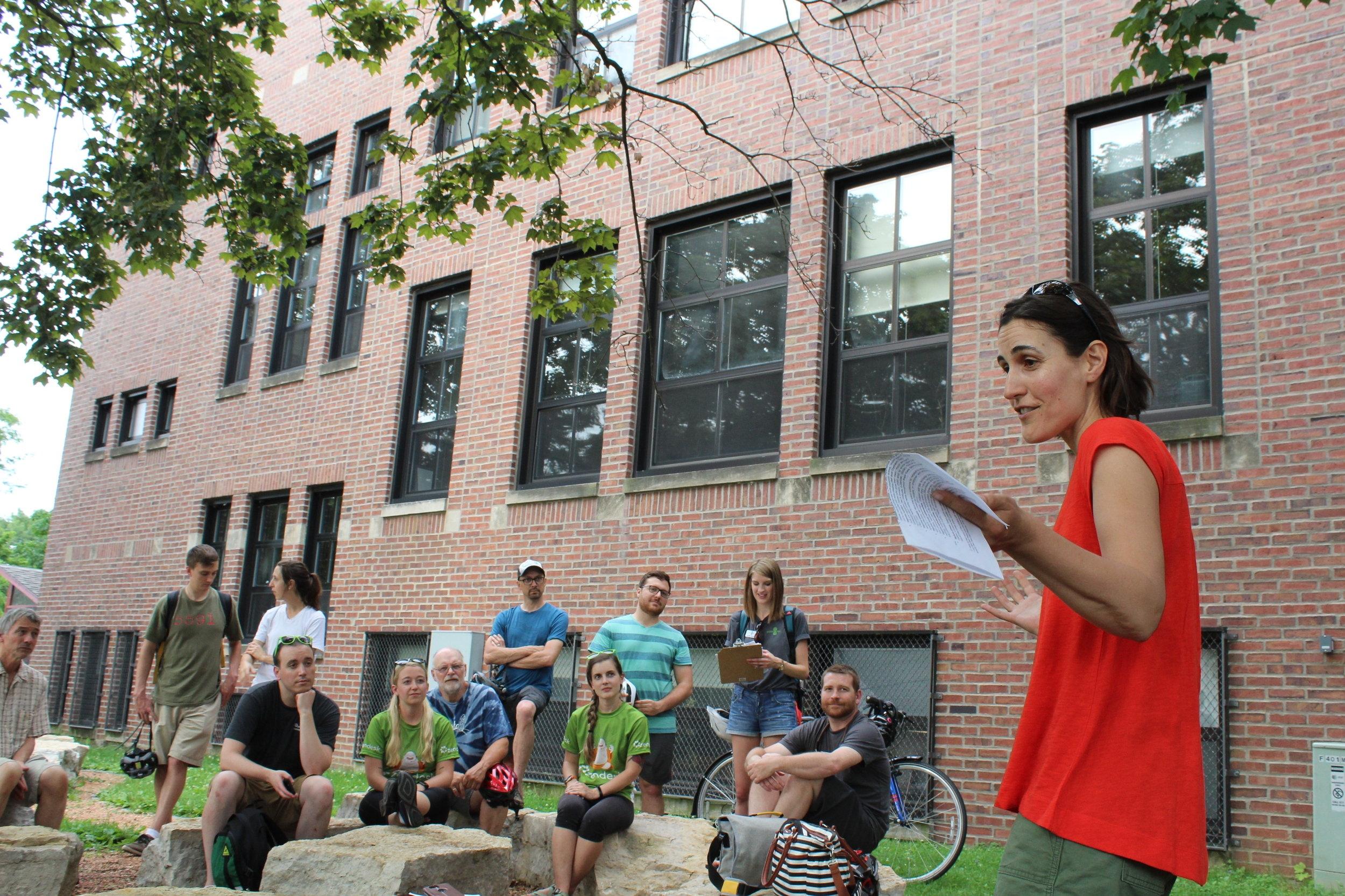 Sustain Dane's Sustainable Schools Initiative leader, Julie Jarvis