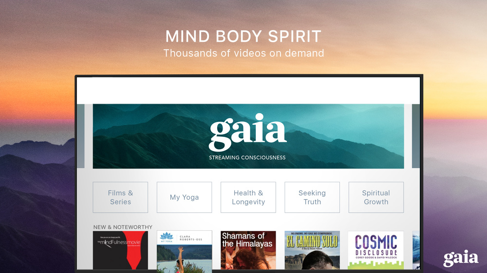 - GAIA TV...... so much to learn