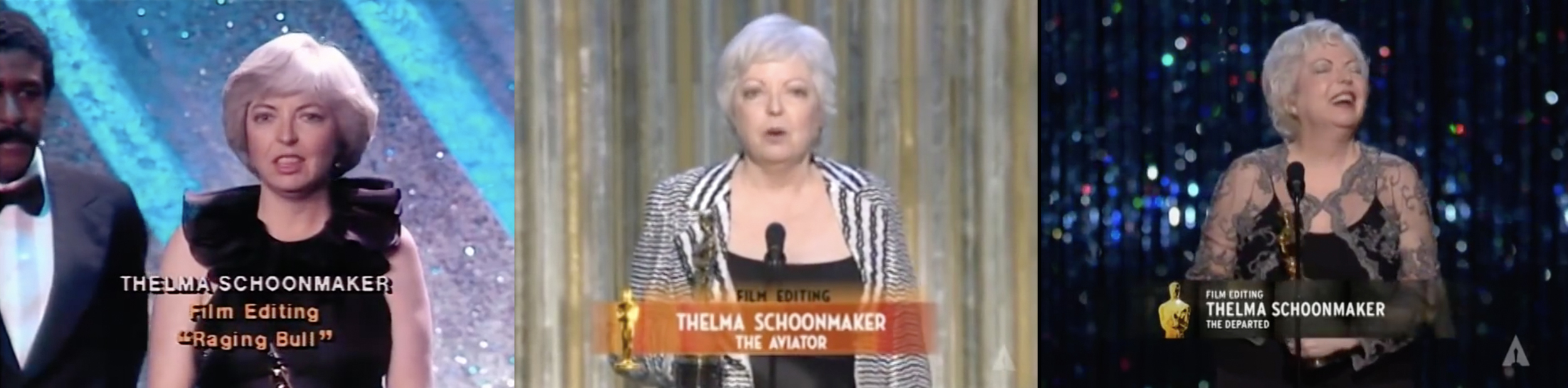 As Thelma ages her Oscar display grows