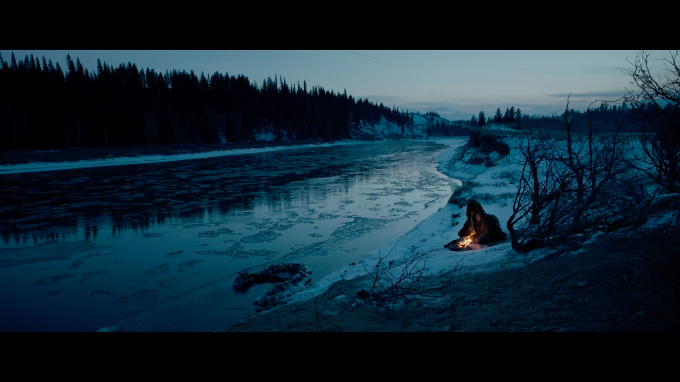 Not to mention Lubezki also shot the entire film using only natural light