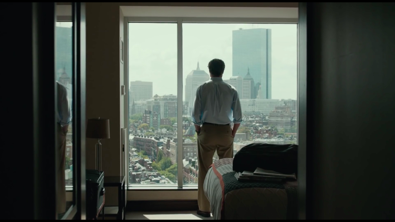 The way Boston is portrayed in the film adds to the overall meaning