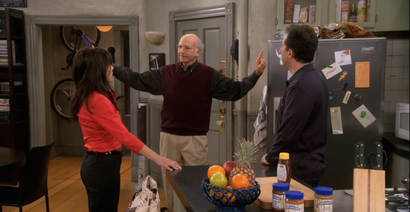 Even though David was not in Seinfeld the character of George Costanza was based on him