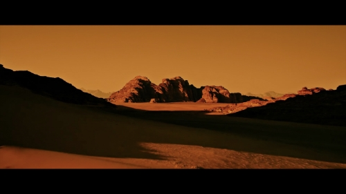 Ridley Scott perfectly captured the barren Mars landscape