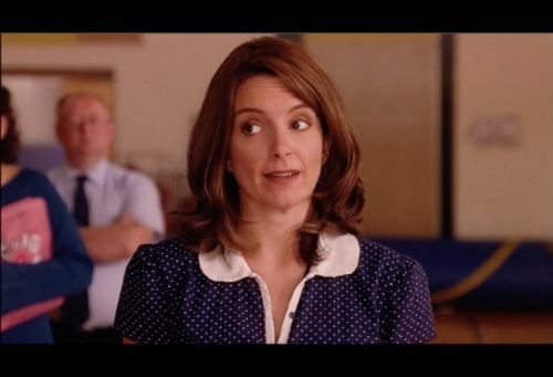Did I mention Fey also starred in the film?