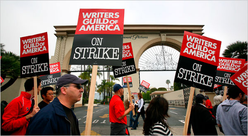 According to Vince Gilligan the Writer's Guild Strike gave him time to restructure  Breaking Bad
