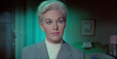 Like Hitchcock in Vertigo, Fincher twists the audience's reality