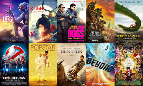 Together 17 films lost Hollywood $915 million