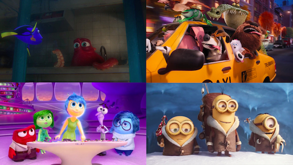 During the past two summers animated films seem to avoid flopping