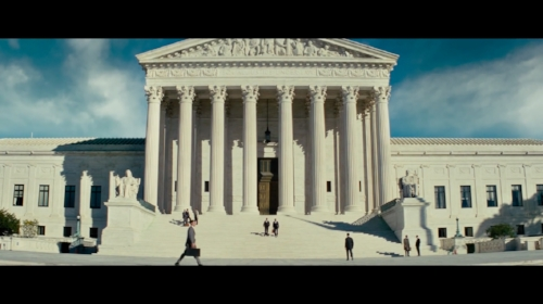 The Supreme Court sequence is the climax but only lasts a few minutes