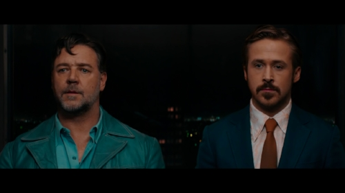 In the first act  The Nice Guys  draws from the film noir genre
