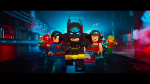 The Lego Batman Movie  is self-aware at times, but has large amounts of child humor