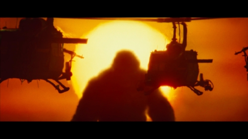 Other than spectacle, there is not a lot for  Kong  to stand on