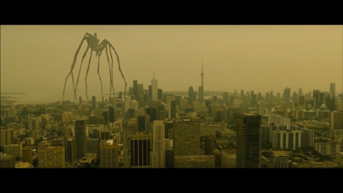 The theme of men being trapped by marriage is also represented in the film through spider imagery