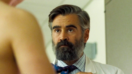 Lanthimos's dialoge style continues in  The Killing of a Sacred Deer