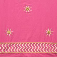 Pink w Gold Star