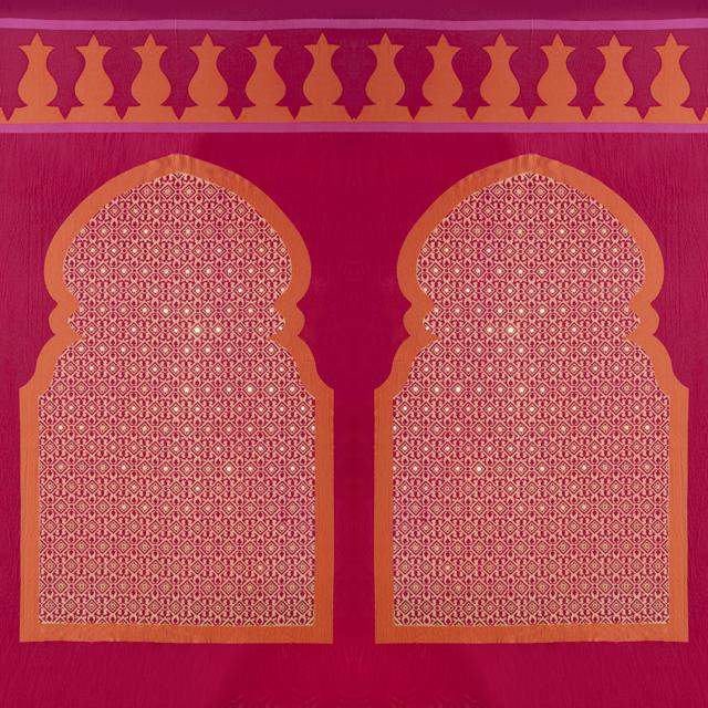 Orange & Magenta Moroccan Arch
