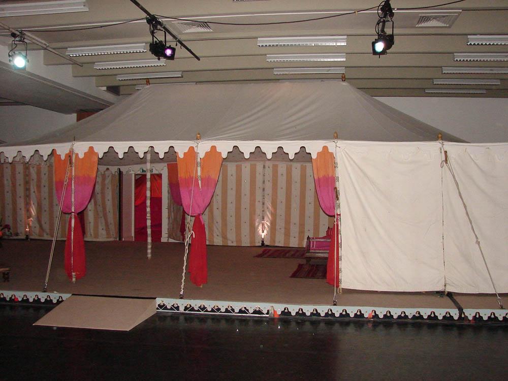 Maharaja inside venue